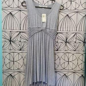 MAX STUDIO Gray Mini Dress